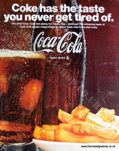 Coca - Cola. Original Advert 1967 (ref AD4013)