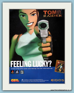 Tomb Raider Original Advert 1996 (ref AD4038)