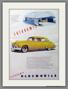 Oldsmobile Futuramic 98. Original Advert 1948 (ref AD52817)