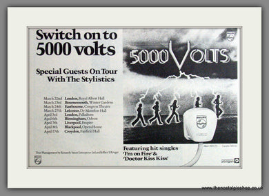 5000 Volts, Tour Dates. 1977  Original Advert (ref AD53253)