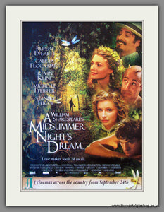 A Midsummer Night's Dream. 1999 Original Advert (ref AD53717)