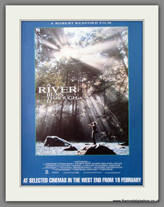 A River Runs Through It. 1993 Original Advert (ref AD54044)