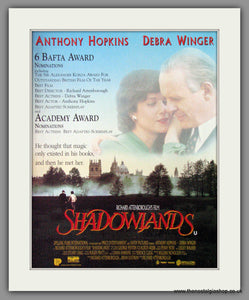Shadowlands. 1994 Original Advert (ref AD54201)