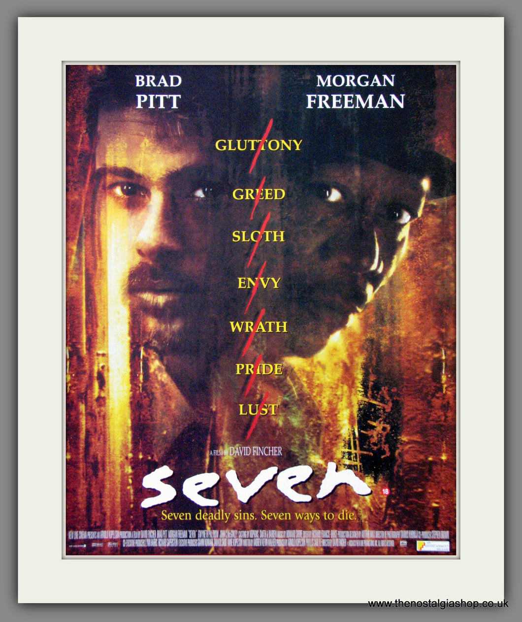 Seven. 1996 Original Advert (ref AD54259)