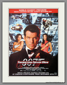 007 Tomorrow Never Dies. 1997 Original Advert (ref AD54286)