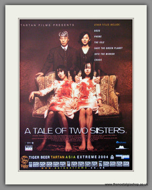 A Tale Of Two Sisters. 2004 Original Advert (ref AD54292)