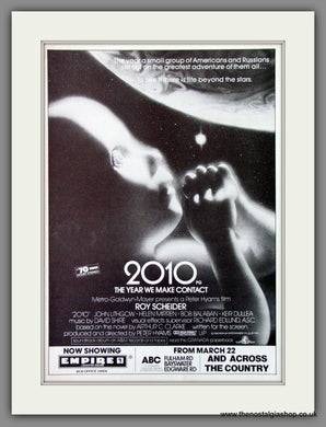 2010 The Year We Made Contact. 1985 Original Advert (ref AD54303)