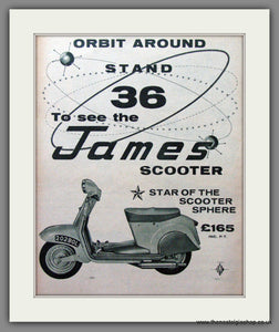 James Scooter. Original Advert 1960 (ref AD54176)