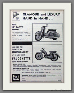 Bella Scooter and Falconette Original Advert 1960 (ref AD54251)