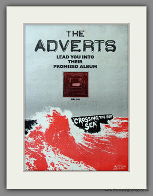 Adverts (The) Crossing The Red Sea. Original Advert 1978 (ref AD11565)
