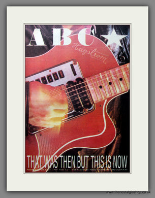 ABC, That Was then This Is Now. Original Advert 1983 (ref AD11641)