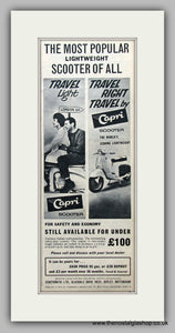 Capri Scooter 1961 Original Advert (ref AD6826)