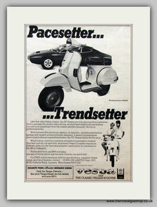 Vespa PX200E 1983 Original Advert (ref AD6812)