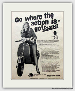 Vespa 1967 Original Advert (ref AD6813)