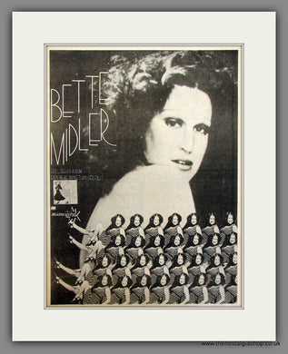 Bette Midler Second Album. Original Advert 1974 (ref AD11714)