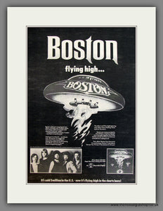 Boston, Boston Album. Original Advert 1977 (ref AD11716)
