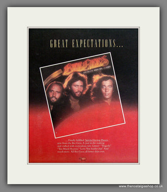 Bee Gees, Spirits Having Flown. Original Advert 1979 (ref AD11722)