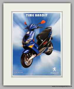 Peugeot  Time Bandit Scooter Original Advert 1999 (ref AD6809)