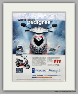 Peugeot The Speedfight 2 Scooter Original Advert 2002 (ref AD6810)