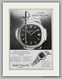 Patek Philippe Geneve Watches. Original Advert 1977 (ref AD6858)