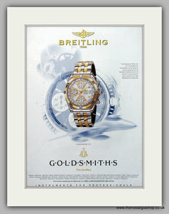 Breitling Chronomat GT Watch Original Advert 1999 (ref AD6914)