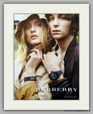 Burberry Watches Original Advert 2009 (ref AD6937)