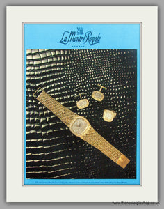 La Montre Royale Watches. Original Advert 1977 (ref AD7973)