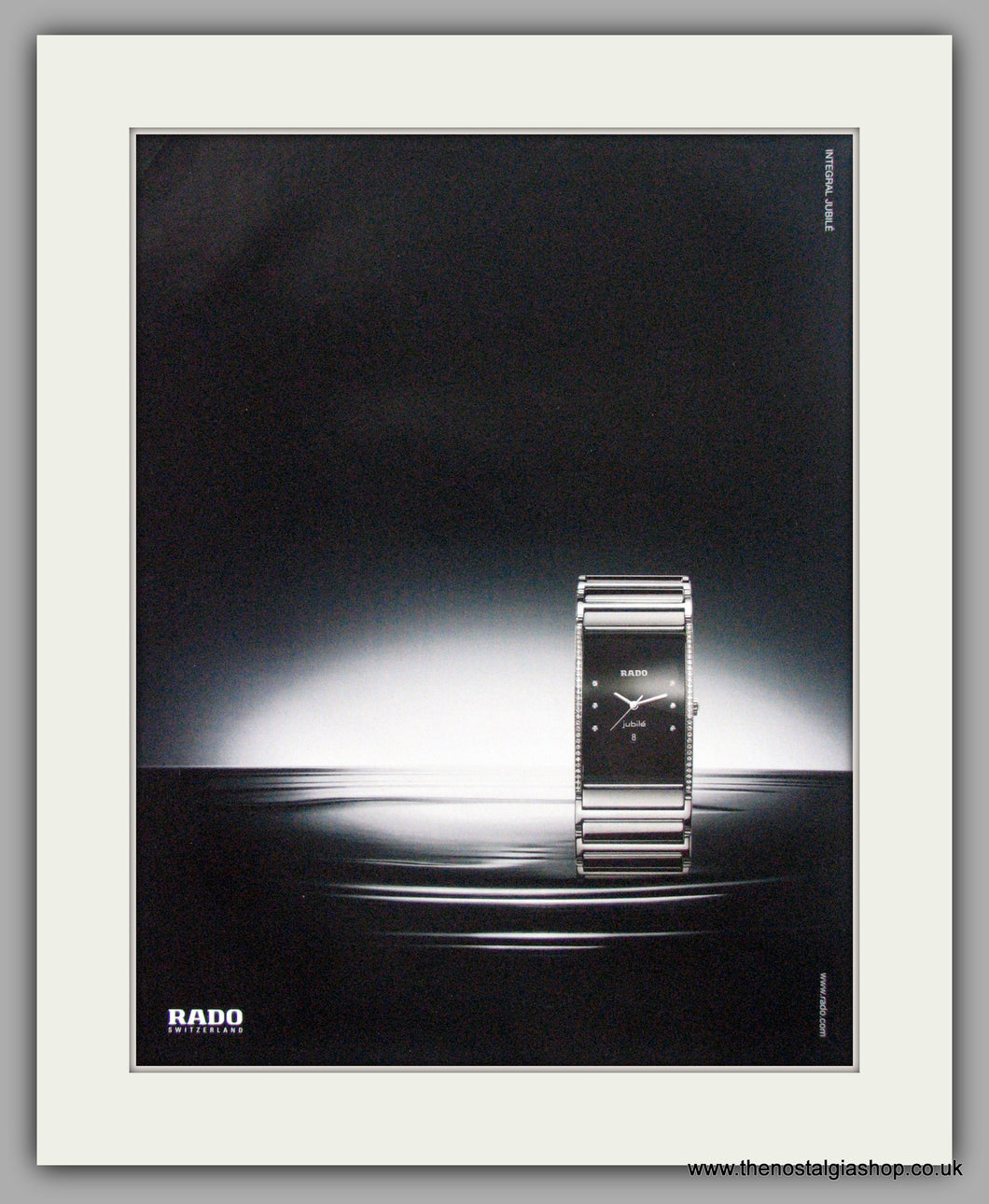 Rado Integral Jubile Watches. Original Advert 2009 (ref AD7976)