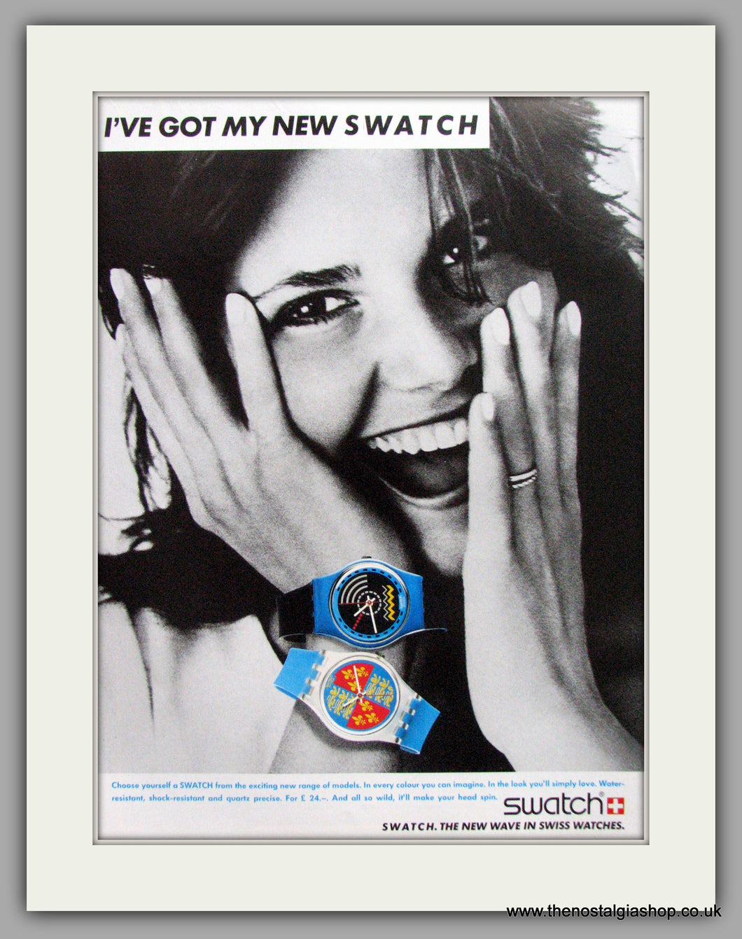 Swatch Watches. Original Advert 1986 (ref AD7982)