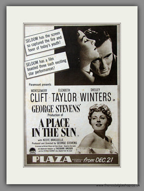 A Place In The Sun. 1951 Original Advert (ref AD54741)