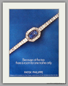 Patek Philippe Geneve Watches. Original Advert 1977 (ref AD7997)