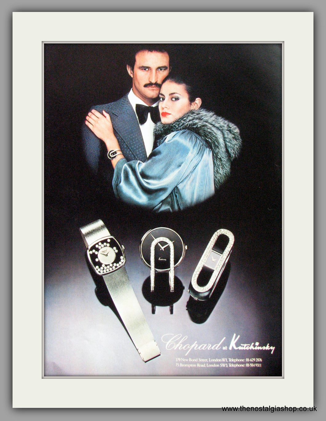 Chopard At Kutchinsky Watches. Original Advert 1977 (ref AD50116)