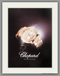 Chopard Watches Harry Sport Collection. Original Advert 2009 (ref AD50119)
