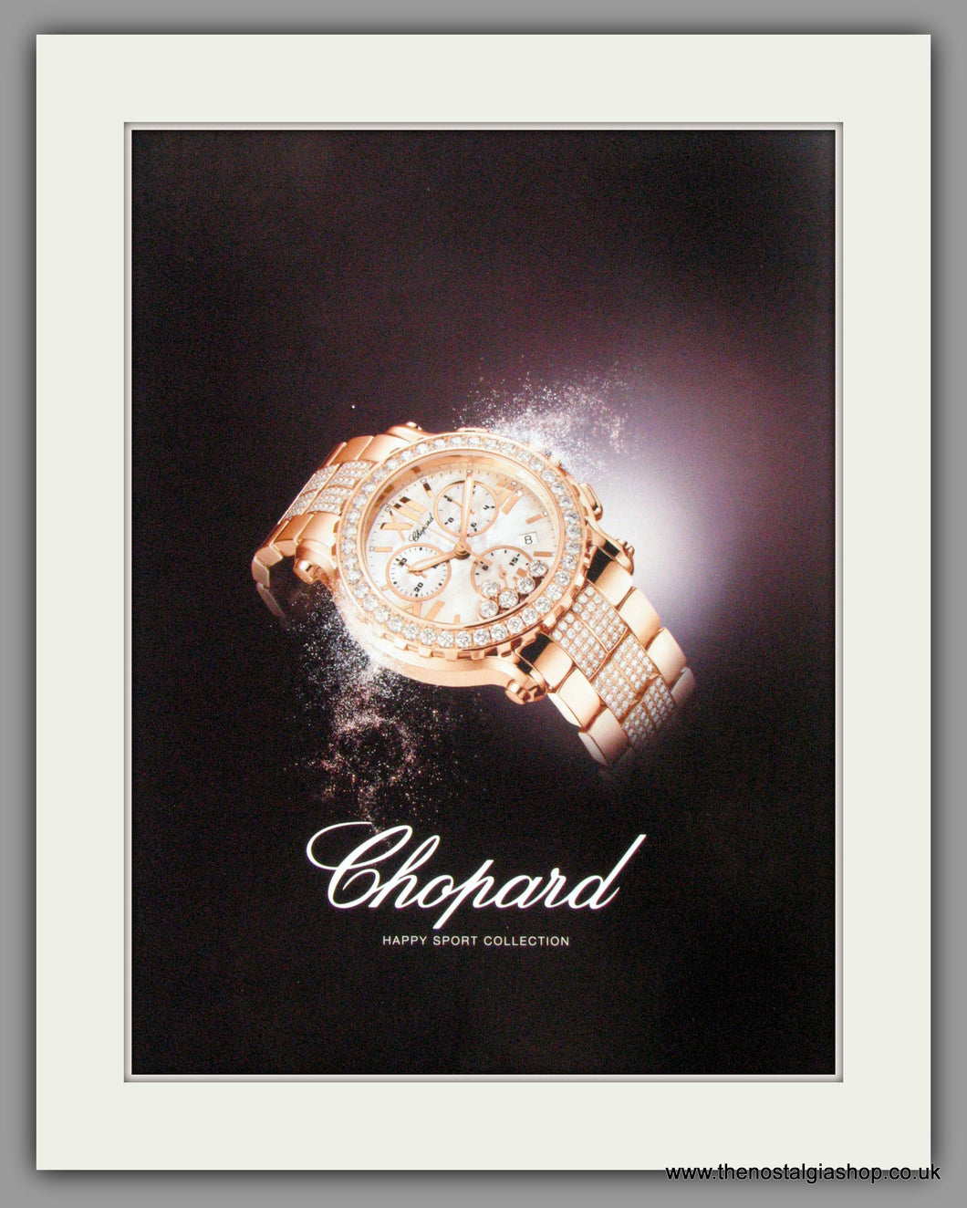 Chopard Watches Happy Sport Collection. Original Advert 2009 (ref AD50119)