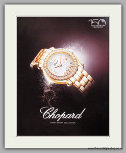 Chopard Watches Harry Sport Collection. Original Advert 2010 (ref AD50120)