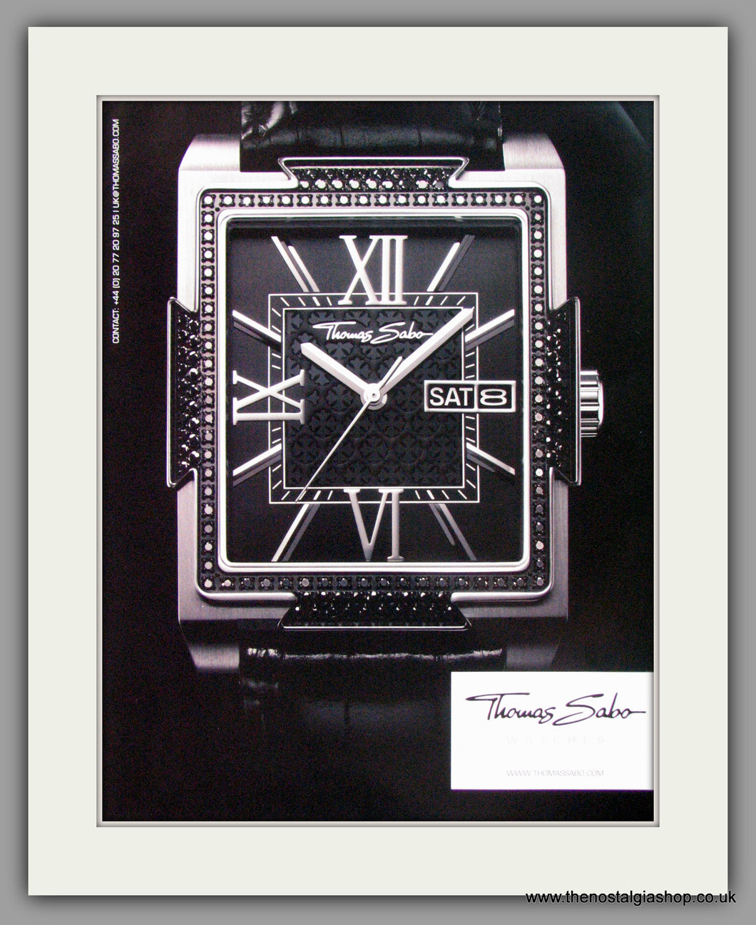 Thomas Sabo Watches. Original Advert 2010 (ref AD50122)