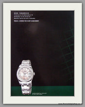 Load image into Gallery viewer, Rolex Oyster Perpetual Datejust Watch. Original Double Advert 2000 (ref AD50164)