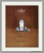Load image into Gallery viewer, Patek Philippe Geneve Watch. Original Double Advert 2009 (ref AD50165)