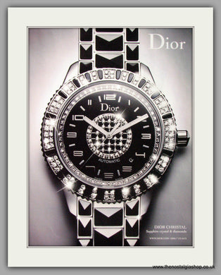 Dior Christal Automatic Watches. Original Advert 2010 (ref AD50181)