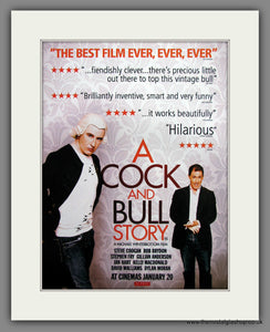 A Cock And Bull Story. 2006 Original Advert (ref AD54668)