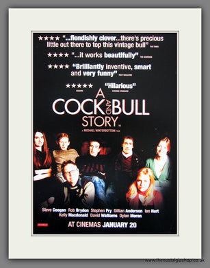 A Cock And Bull Story. 2006 Original Advert (ref AD54669)