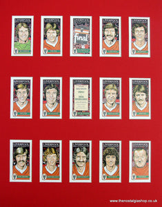 Liverpool Kings of Europe 1977. Football Card Set.
