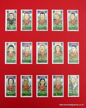 Load image into Gallery viewer, Liverpool Champions League 2005. Mounted Card Set.