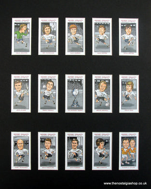 Derby County Champions of 1971-1972 Football Card Set