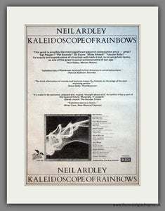 Neil Ardley. Kaleidoscope of Rainbows. Original Advert 1976 (ref AD12076)