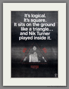 Nik Turner. Original Advert 1978 (ref AD12077)