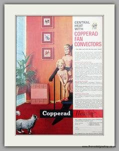 Copperad heating. Original Advert 1962 (ref AD7462)