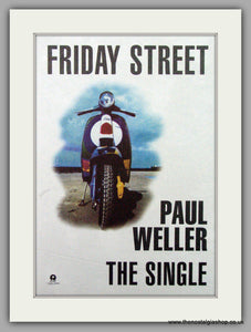 Paul Weller. Friday Street. Vintage Advert 1997 (ref AD7524)