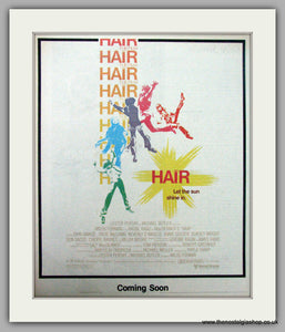 Hair. The Film. Let The Sun Shine In. Vintage Advert 1979 (ref AD9499)