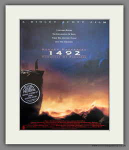 1492 Conquest Of Paradise. 1992 Original Film Advert (ref AD55436)